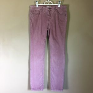 Free People Dusty Rose Pink Corduroy Pants W 32